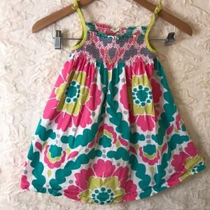 MINI BODEN 3-4 year old floral dress
